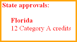 State approvals: 